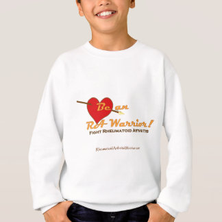 Heart message for RA Warriors Sweatshirt