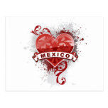 Heart Mexico Postcard