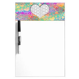 Heart Mini Frame VI + your photo & ideas Dry Erase Board