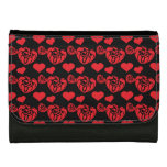 Heart Mix 1 Red Wallets