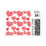 Heart Mix 2 Red Postage