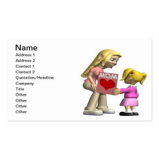 Heart Mom Business Card