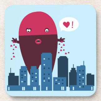 Heart Monster Coaster
