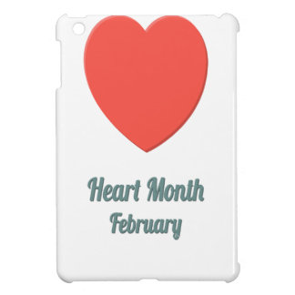 Heart Month - Appreciation Day iPad Mini Case