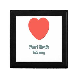 Heart Month - Appreciation Day Jewelry Box