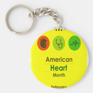 Heart Month February - Appreciation Day Keychain