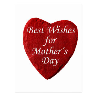 Heart Mothers Day Postcard