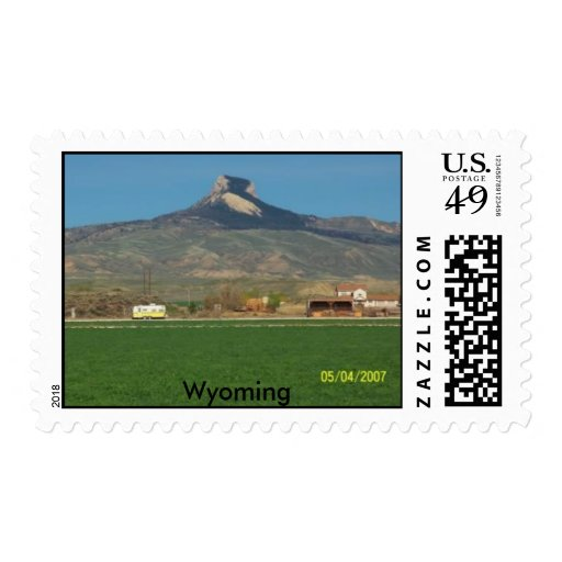Heart Mountain in Spring, Stamp