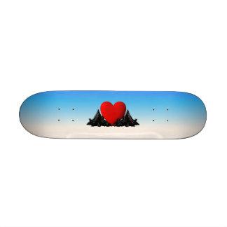 Heart Mountains Skate Board