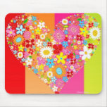 HEART MOUSEPADS - VALENTINES DAY GIFTS - FLOWERS