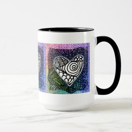 Heart Mug - Colorful Heart