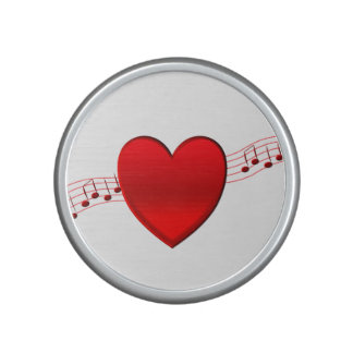 Heart Music Bluetooth Speaker