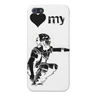 heart my catcher iphone case