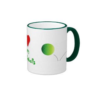 Heart My Pickleballs - Mugs