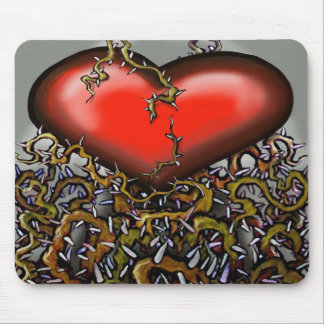 Heart-n-Thorns Mouse Pad