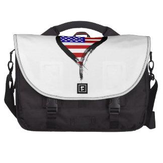 Heart Nation 01 Laptop Commuter Bag