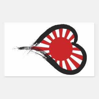 Heart Nation 05 Rectangular Sticker