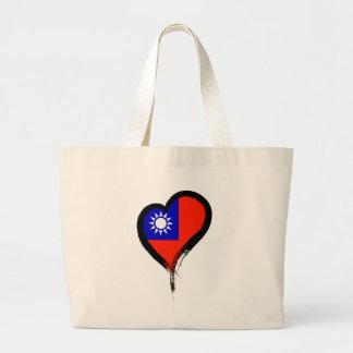 Heart Nation 06 Large Tote Bag