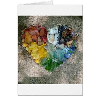 Heart Nature Art Card