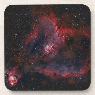 Heart Nebula Coaster