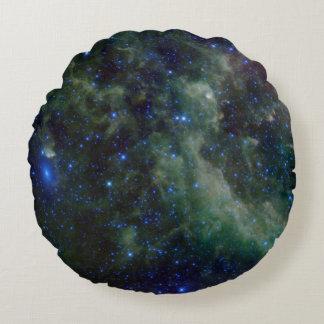 Heart Nebula IC 1805 Round Pillow