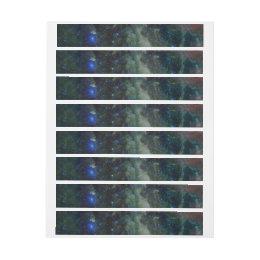 Heart Nebula IC 1805 Wrap Around Address Label