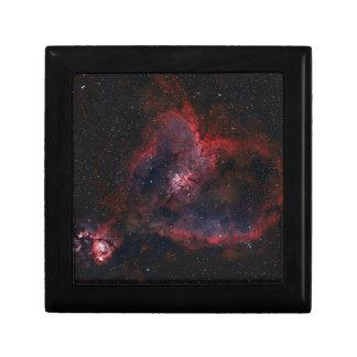 Heart Nebula Jewelry Box