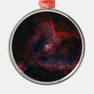 Heart Nebula Metal Ornament