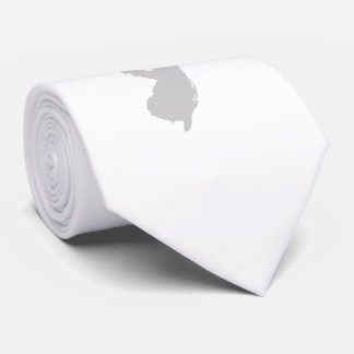 Heart New Jersey state silhouette Tie