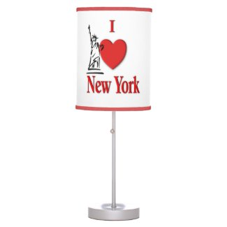 Heart New York Desk Lamp