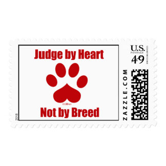 Heart Not Breed Postage