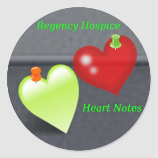 Heart Notes Stickers