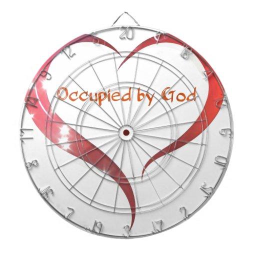 Heart Occupied by God Dartboards