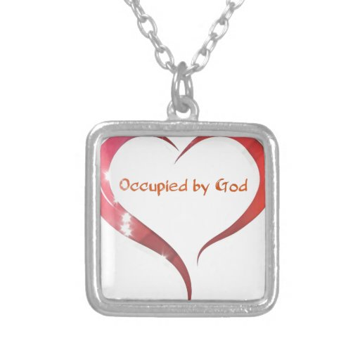 Heart Occupied by God Necklace