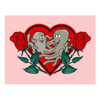 Heart Octopus Postcard