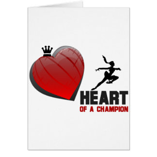 Heart of a Champion Ice Skating Card