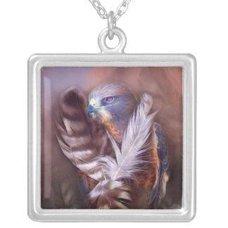 Heart Of A Hawk Wearable Art Necklace
