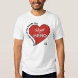 Heart of a Hero T-shirt
