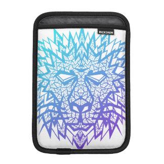 Heart of a Lion - iPad Mini Sleeve - White