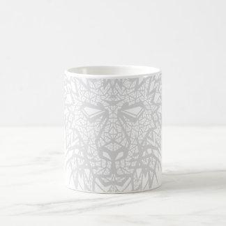 Heart of a Lion - Mug - White/Gray