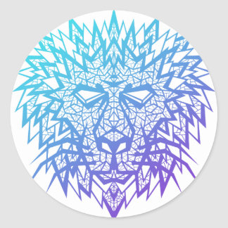 Heart of a Lion - Sticker - White