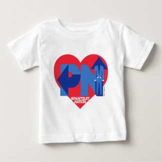 Heart of a Pantsuit Nation Baby T-Shirt