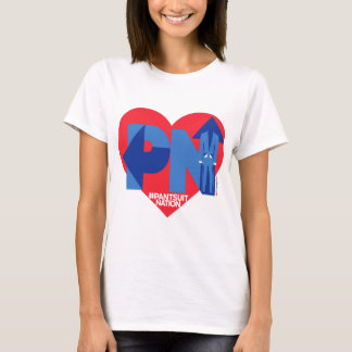Heart of a Pantsuit Nation T-Shirt
