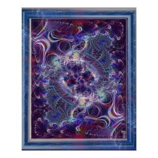 Heart of a Psychedelic Frenzy Var 2  Art Print
