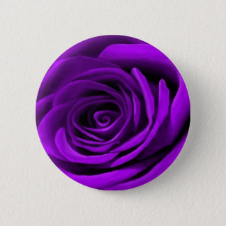Heart Of A Purple Rose Button