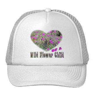 Heart of a Wild Flower Child Trucker Hat