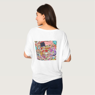 Heart of America, heart of Hope and Peace T-Shirt