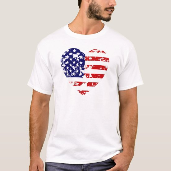 Heart Of America July 4th T-Shirt