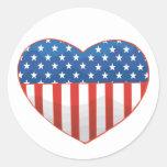 Heart Of America Sticker