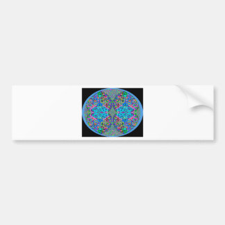 Heart of Blue Diamonds V3 Bumper Sticker